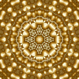 8 elements colored mythical kaleidoscope. Gold dune 8 elements colored mythical kaleidoscope Royalty Free Stock Photography
