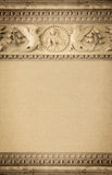 The elements of decoration, background of old stucco molding Stock Photography