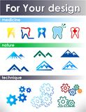 Elements for design. Royalty Free Stock Photos