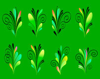 Elements for design. Abstract decoration ornamental stock illustration