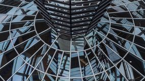 Elements of the dome of the Reichstag, the architecture. Of Berlin royalty free stock image