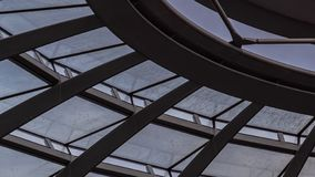 Elements of the dome of the Reichstag, the architecture. Of Berlin stock photos
