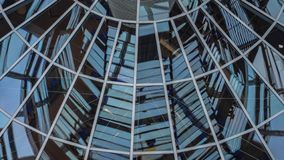 Elements of the dome of the Reichstag, the architecture. Of Berlin stock image