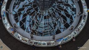 Elements of the dome of the Reichstag, the architecture. Of Berlin royalty free stock photography