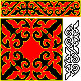 Elements of east ornament. Stock Image