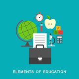 Elements of education Stock Photos