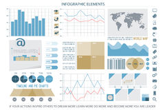Elements eleven. Infographic elements, web technology icons. vector timeline option graph, reminder, clock symbol. pie chart info graphic icon. financial Royalty Free Stock Photography
