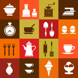 Elements of household Stock Photos