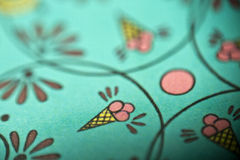 Elements of ice cream. Closeup captured elements of ice cream stock photography