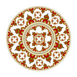 Elements with Indian ornament Stock Image
