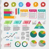 Elements Info Graphic Royalty Free Stock Images