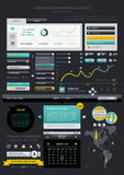 Elements of Infographics Stock Photos