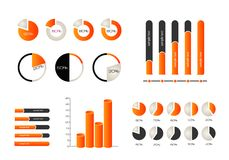 Elements of infographics. Eps 10 Royalty Free Stock Photo