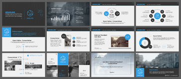 Elements for infographics and presentation templates. Royalty Free Stock Photography