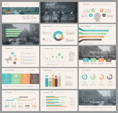 Elements for infographics and presentation templates. Royalty Free Stock Photos
