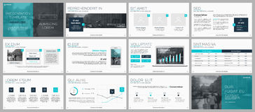 Elements for infographics and presentation templates. Stock Photo