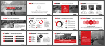 Elements for infographics and presentation templates. Royalty Free Stock Image