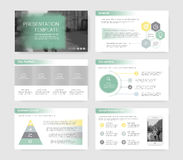 Elements of infographics stock illustration