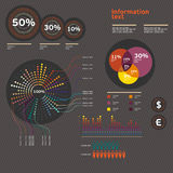 Elements of infographics. Set of vector elements infographics and icons Stock Photo