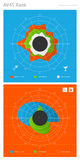 Elements of infographics Stock Image