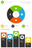 Elements of infographics Stock Photos