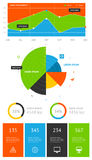 Elements of infographics Royalty Free Stock Image