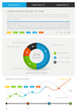 Elements of infographics. — Stock Vector Royalty Free Stock Photos