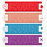 Elements of infographics, vector illustration. Stock Photo