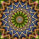 16 elements kaleidoscope Stock Photography