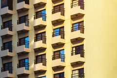 Elements of modern design. Elements of modern exterior design and architecture royalty free stock images