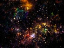 Elements of Nebula vector illustration