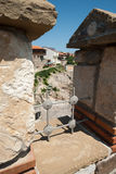 Elements of the old fortifications on the Black Sea coast, Bulgaria Royalty Free Stock Image