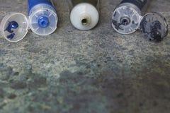 Elements paintbrushes Royalty Free Stock Photography