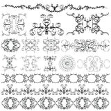 Elements of the pattern Royalty Free Stock Image