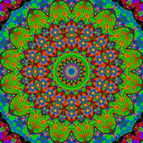 16 elements relax mythical kaleidoscope. 16 elements colored mythical kaleidoscope Royalty Free Stock Images