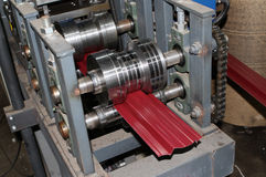 Elements of the rolling mill Royalty Free Stock Images