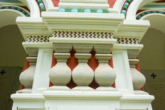 Elements of Russian architecture on Shipka Royalty Free Stock Photo
