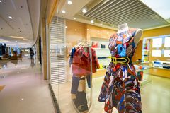Elements Shopping Mall Stock Image