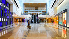 Elements shopping mall interior, hong kong Stock Images