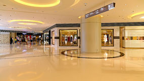 Elements shopping mall interior, hong kong Royalty Free Stock Images