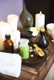 Elements of spa massage Stock Photography