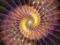 Elements of Spiral Pattern Stock Photography