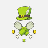 Elements St. Patrick's Day Stock Photography