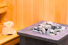 Elements steam room sauna Stock Images