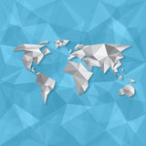 Elements Vector world map Royalty Free Stock Photo