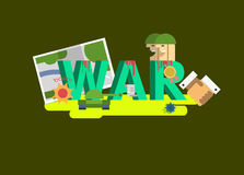 Elements of War Stock Images