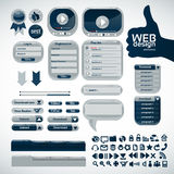 Elements for web design. Big set Stock Photography