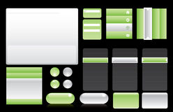 elements webdesign Στοκ εικόνα με δικαίωμα ελεύθερης χρήσης