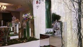 Elements Wedding ceremony stock footage