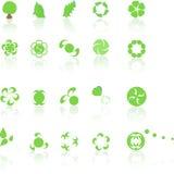 elements3 πράσινος Στοκ Εικόνα